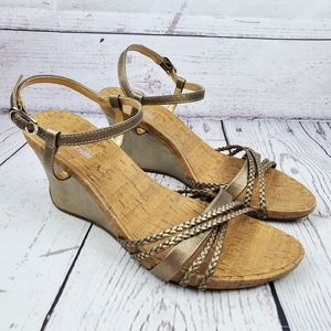 Kenneth Cole Reaction Wedged Sandals